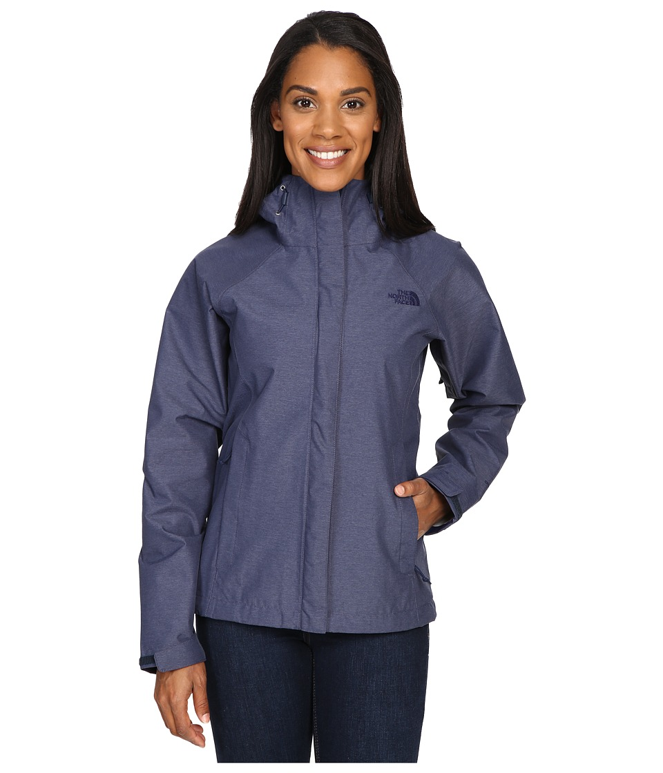 The North Face - Venture Jacket (Cosmic Blue Heather) Women's Coat