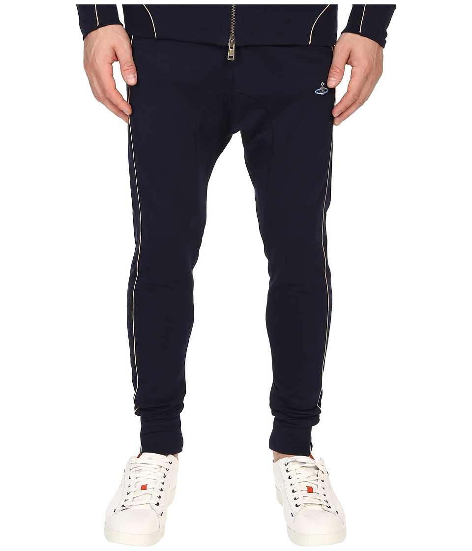 Vivienne Westwood - Tybald Tracksuit Pants (Navy) Men's Casual Pants