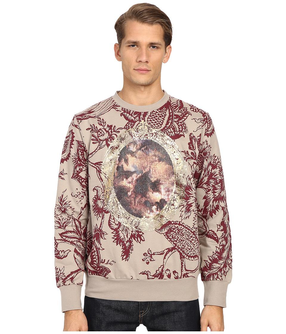 Vivienne Westwood - Cherub Frame Sweatshirt (Khaki) Men's Sweatshirt