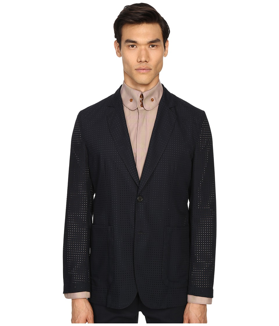 Vivienne Westwood - Laser Wool Summer Jacket (Navy) Men's Jacket