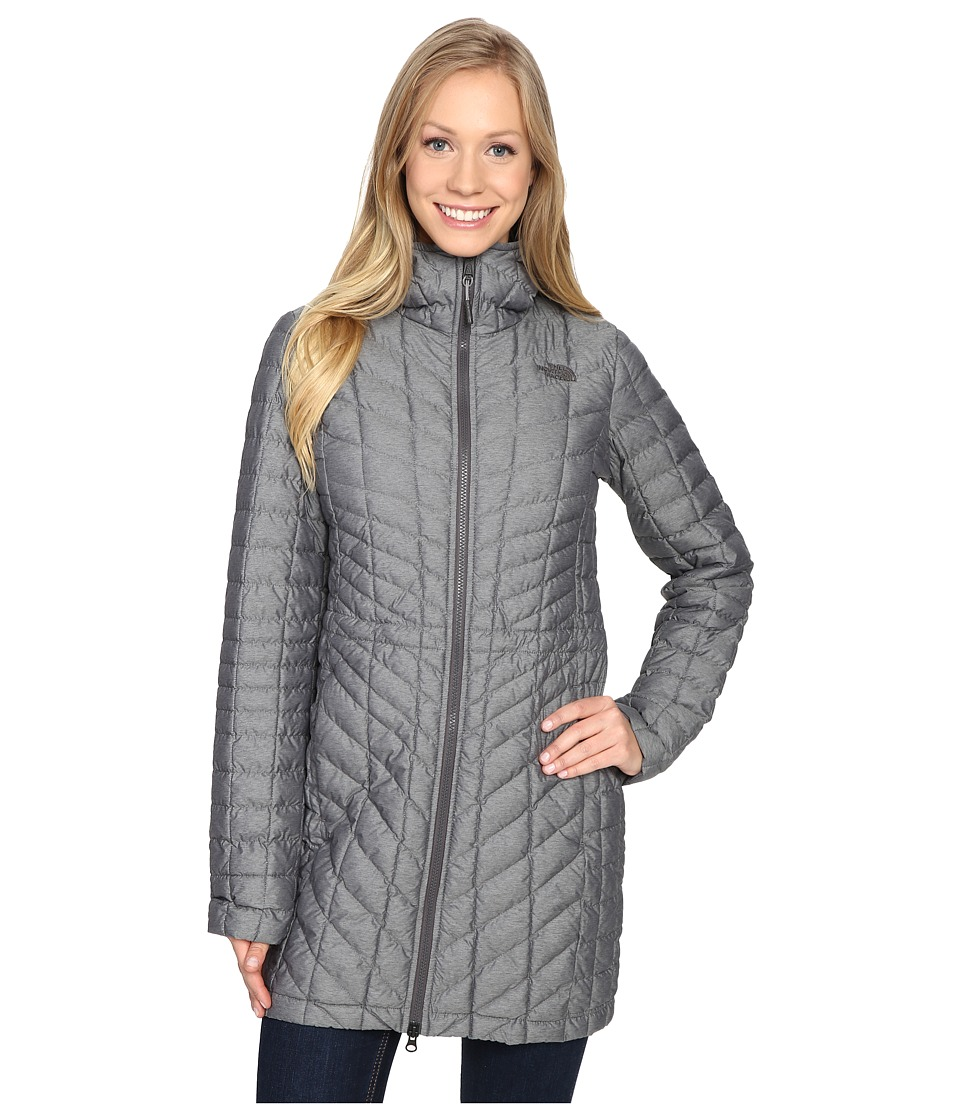 The North Face - ThermoBall Hooded Parka (TNF Medium Grey Heather) Women's Coat