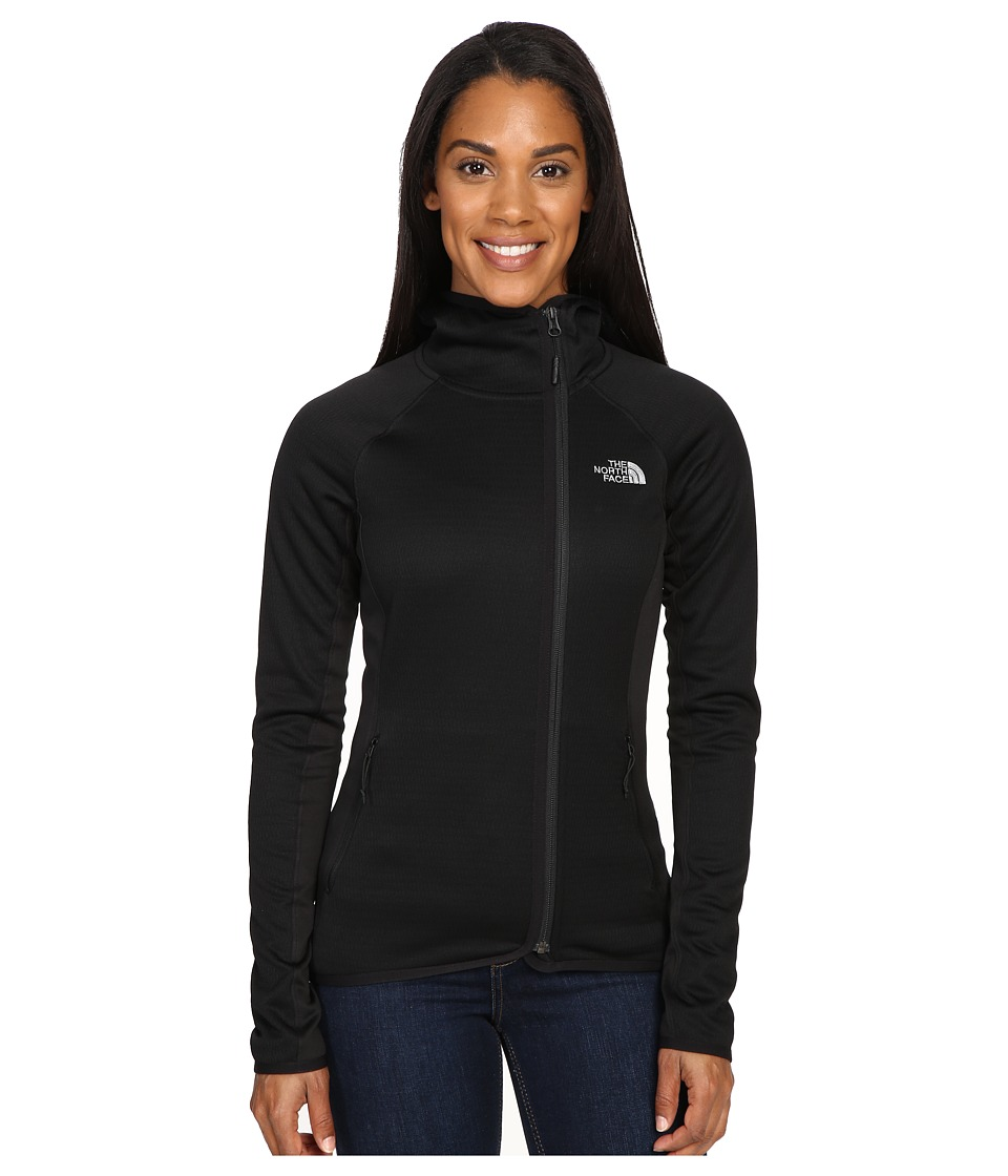 The North Face - Arcata Hoodie (TNF Black/Mid Grey) Women's Sweatshirt