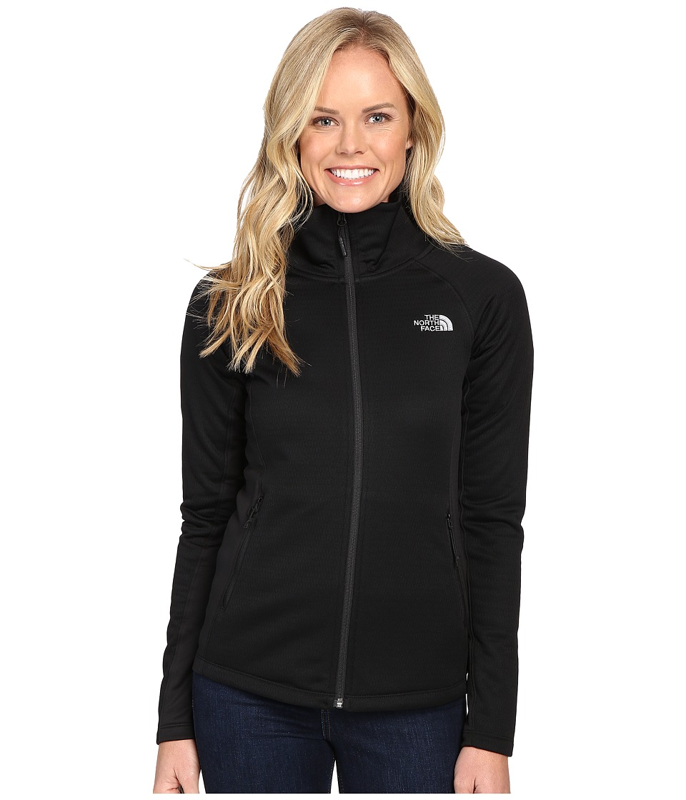 The North Face - Arcata Full Zip (TNF Black/Mid Grey) Women's Coat