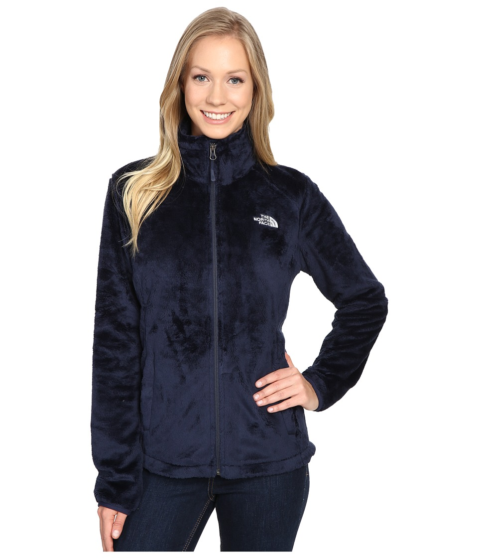The North Face - Osito 2 Jacket (Cosmic Blue/Artic Ice) Women's Coat