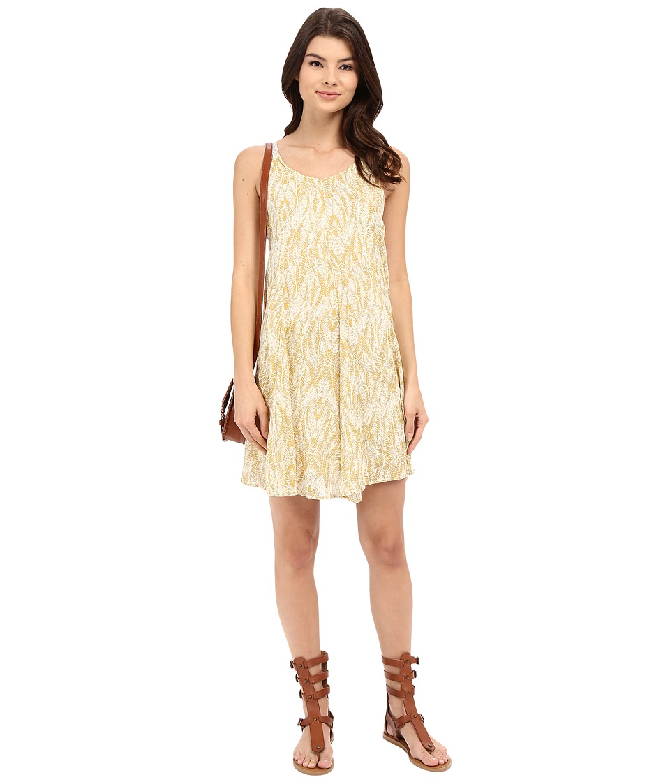 O'Neill - Sia Dress (Ochre) Women's Dress
