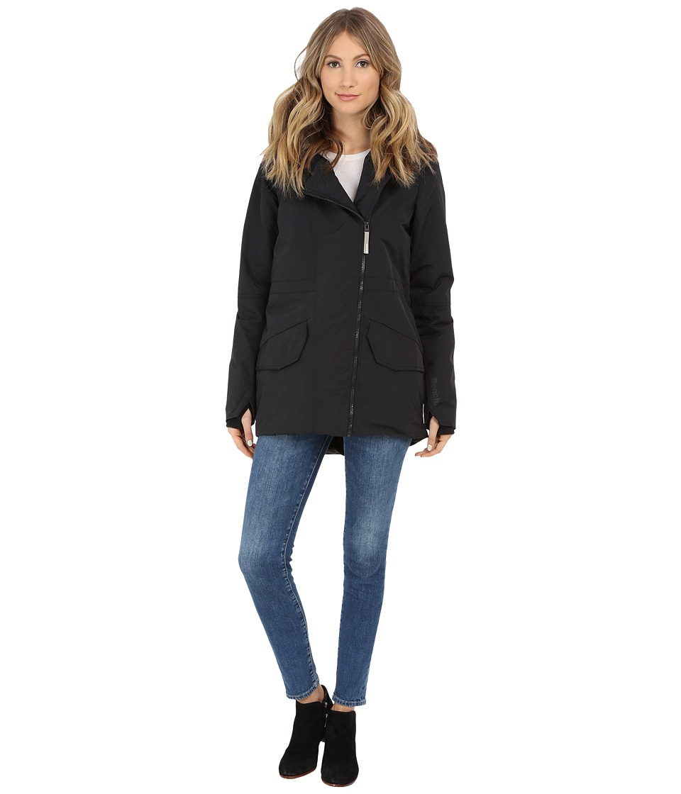 Bench - Euphoria Jacket (Jet Black) Women's Jacket