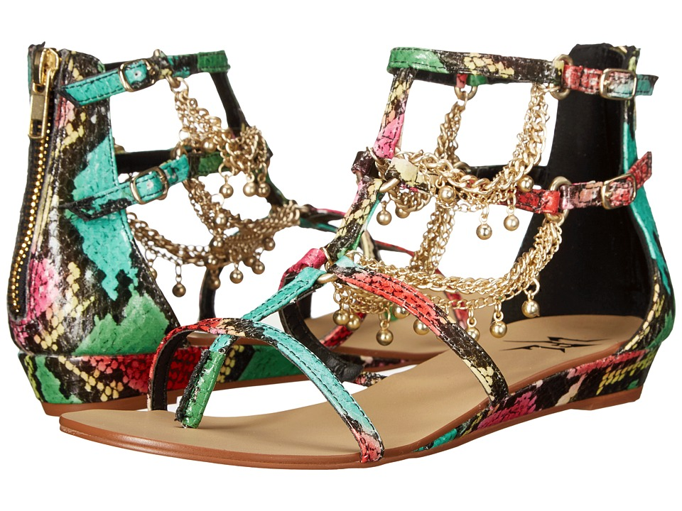 LFL by Lust For Life - Angel (Bright Multi) Women's Sandals