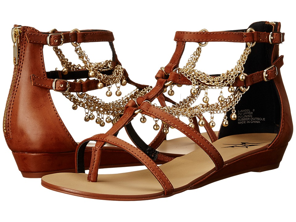 LFL by Lust For Life - Angel (Cognac) Women's Sandals