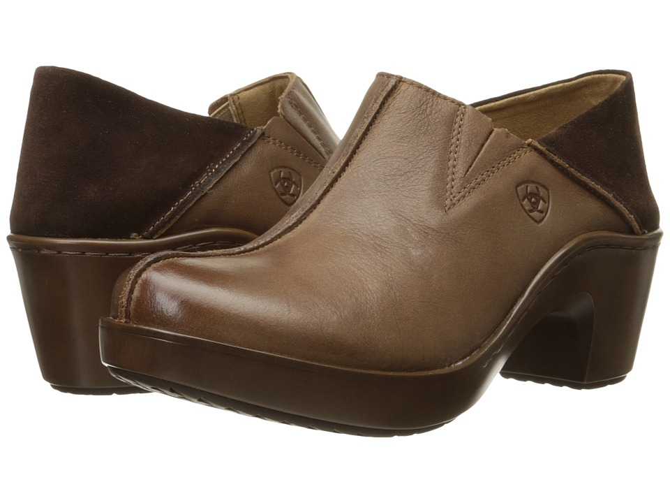Ariat Kick Back Clog (Burnt Sugar) Women