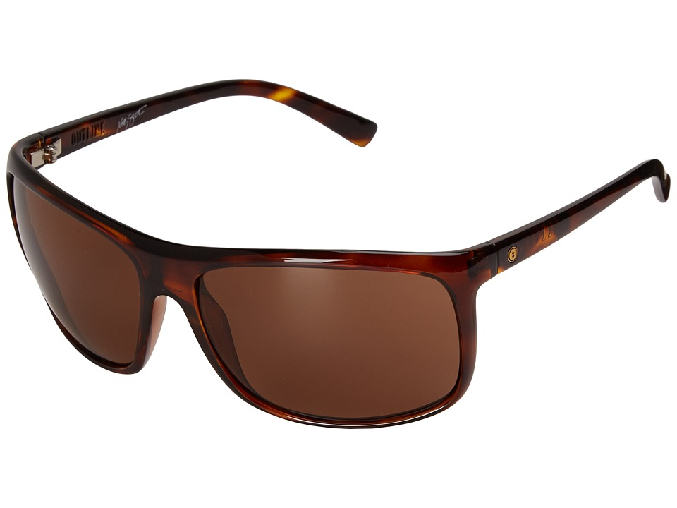 Electric Eyewear - Outline (Gloss Tort/M Bronze) Sport Sunglasses