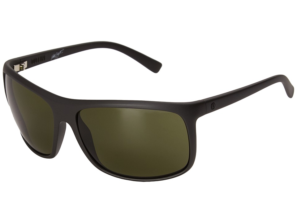 Electric Eyewear - Outline (Matte Black/Matte Grey) Sport Sunglasses