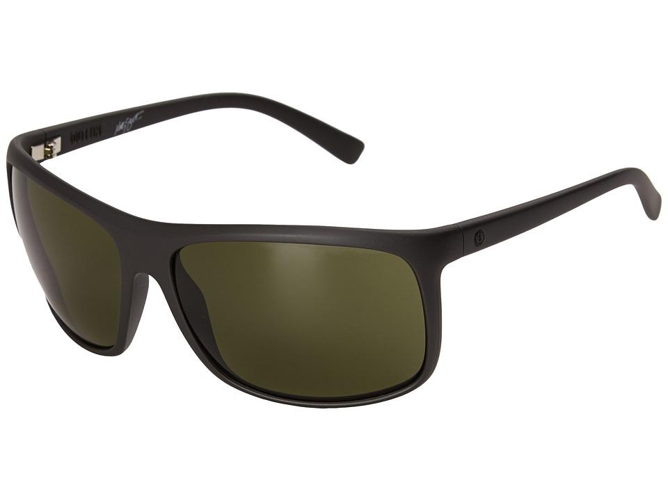 Electric Eyewear - Outline (Matte Black/Matte Grey) Sport Sunglasses