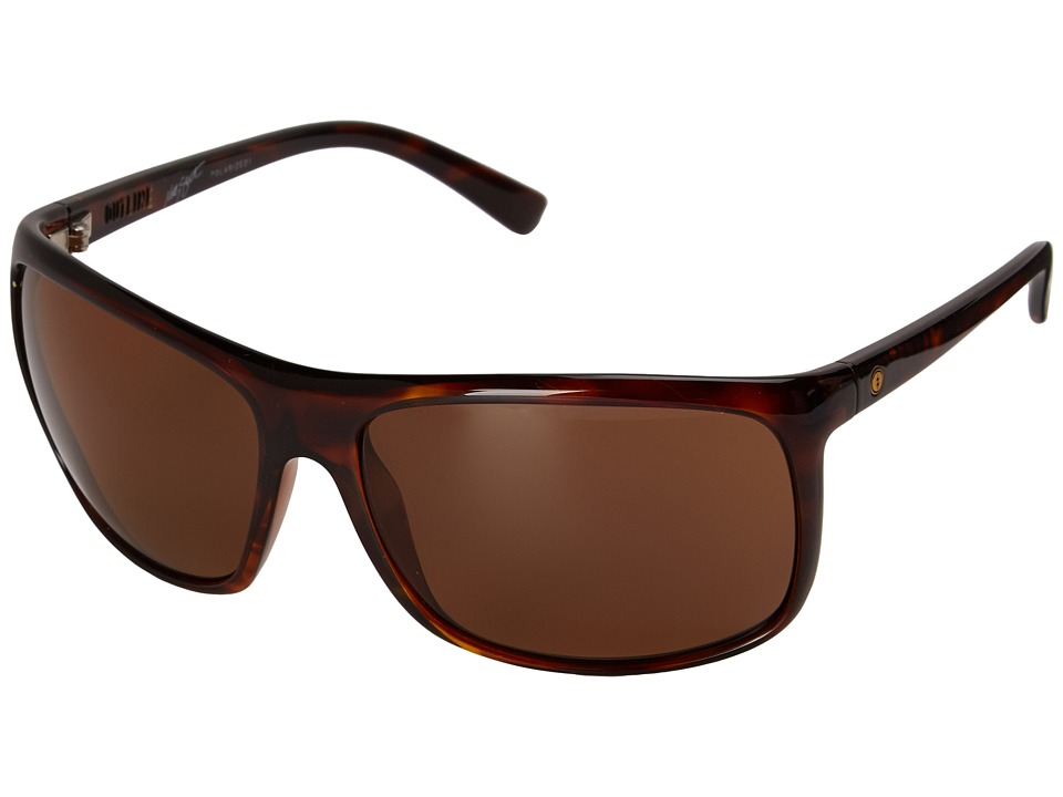 Electric Eyewear - Outline (Gloss Tort/M1 Brown Polarized) Sport Sunglasses