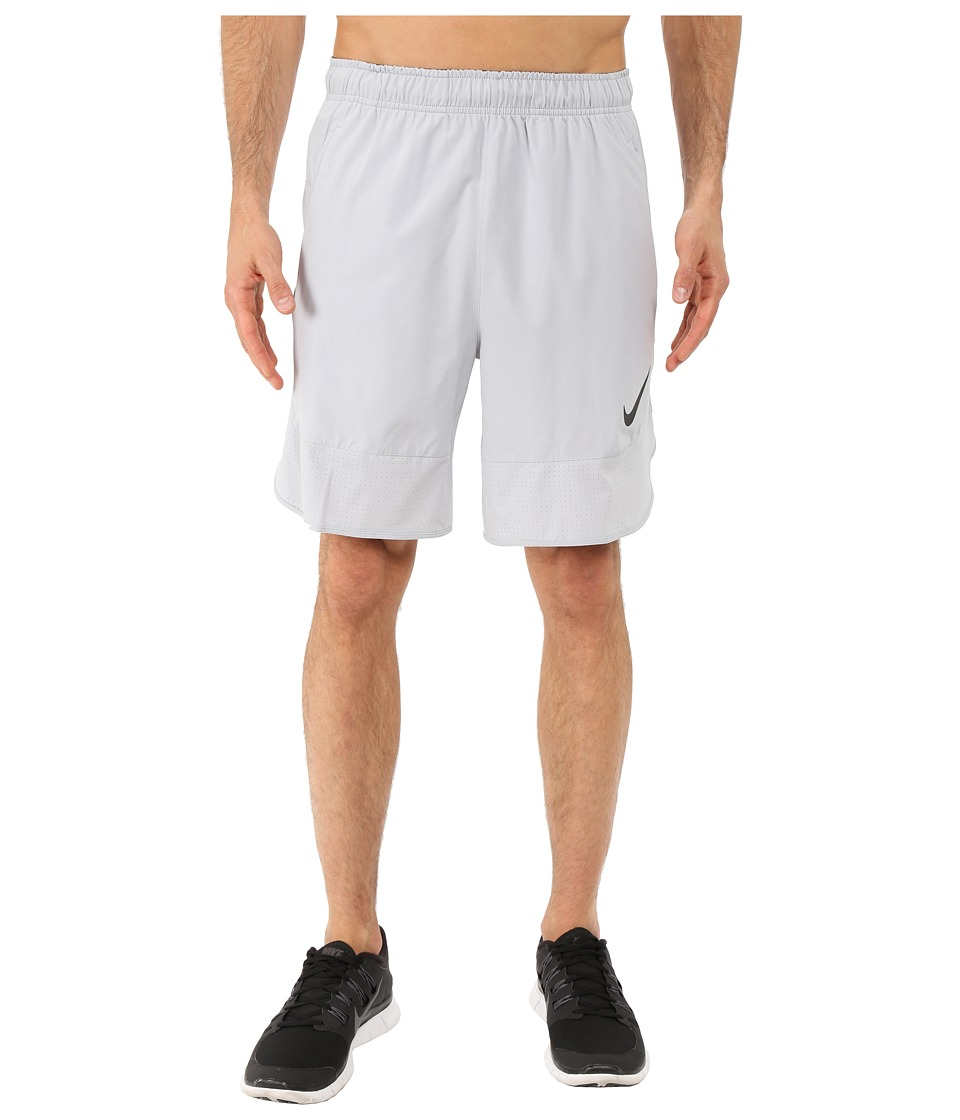 Nike - Flex 8 Shorts (Wolf Grey/Black) Men's Shorts