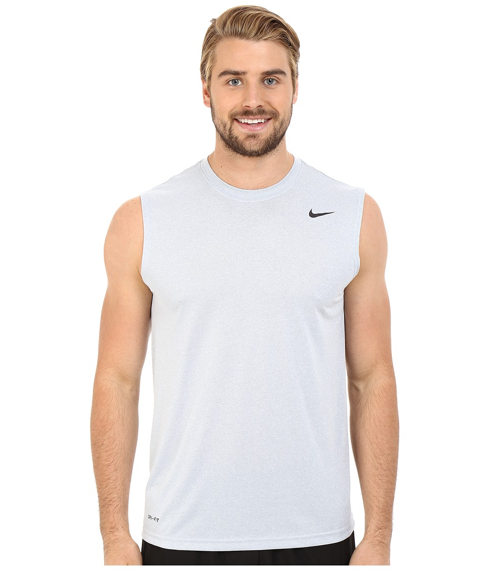 Nike - Legend 2.0 Sleeveless Tee (Wolf Grey/Black/Black) Men's T Shirt