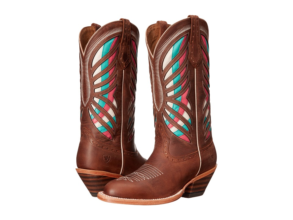 Ariat - Gentry (Tan) Cowboy Boots