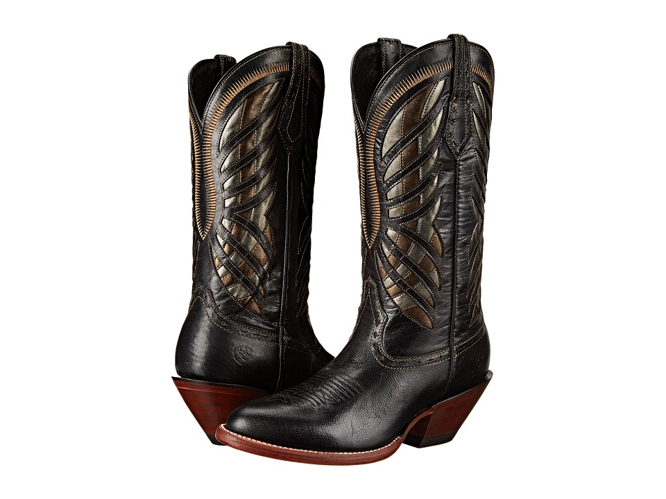 Ariat Gentry (Rustic Black) Cowboy Boots