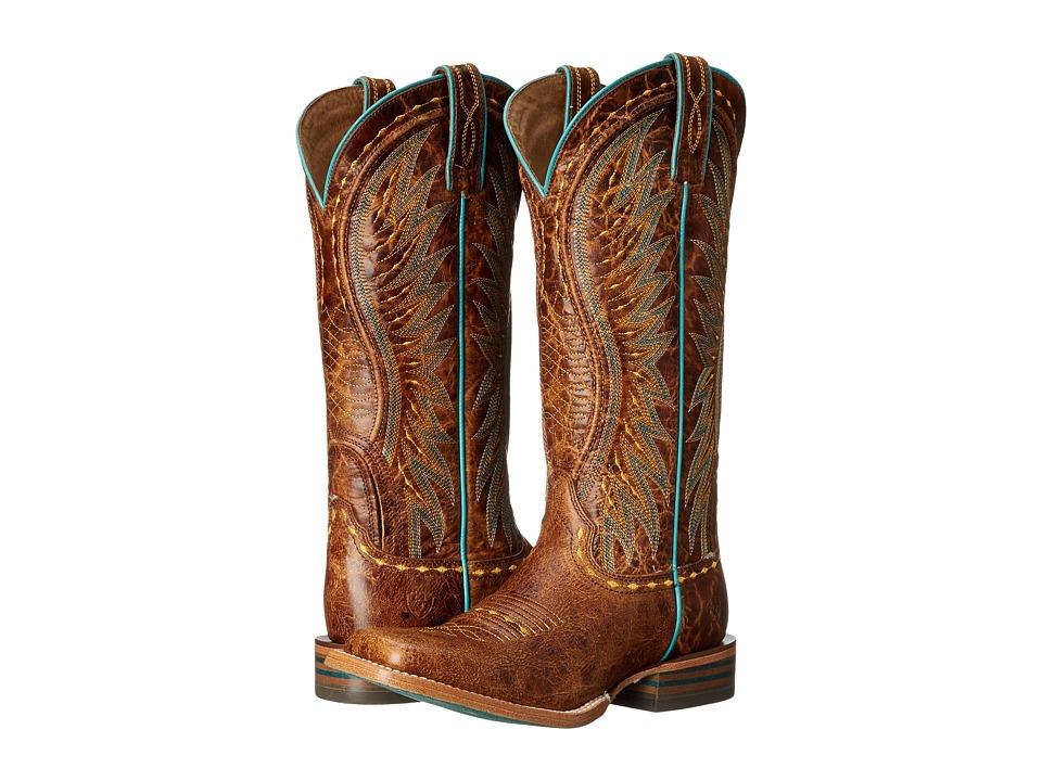 Ariat - Vaquera (Saddle Tan) Cowboy Boots