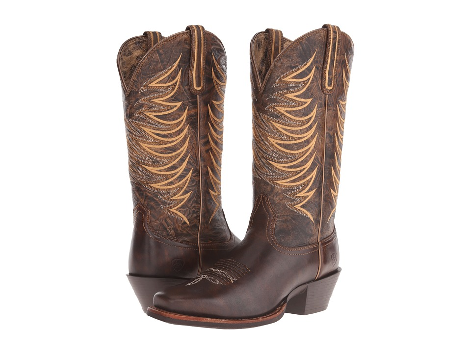 Ariat Legend Legacy (Brushed Brown) Cowboy Boots