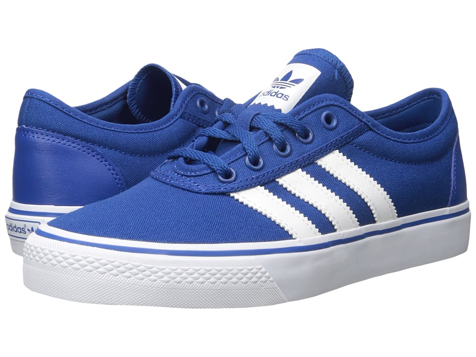 adidas Skateboarding - Adi-Ease (EQT Blue/White/EDT Blue (Canvas)) Men's Skate Shoes