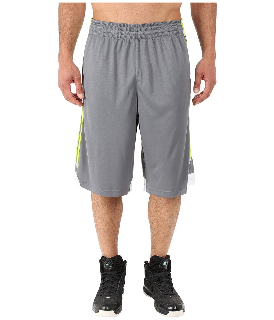 adidas - 3G Speed Short (Vista Grey/Solar Slime/White) Men's Shorts