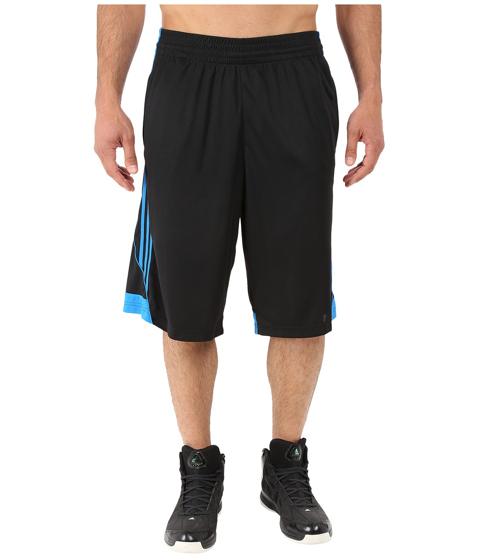 adidas - 3G Speed Short (Black/Shock Blue/Shock Blue) Men's Shorts