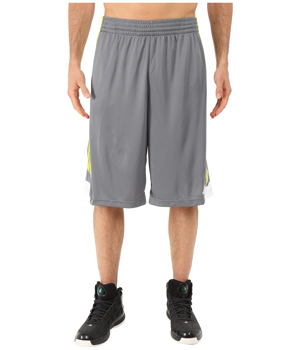 adidas - 3G Speed Short (Vista Grey/Shock Yellow/White) Men's Shorts