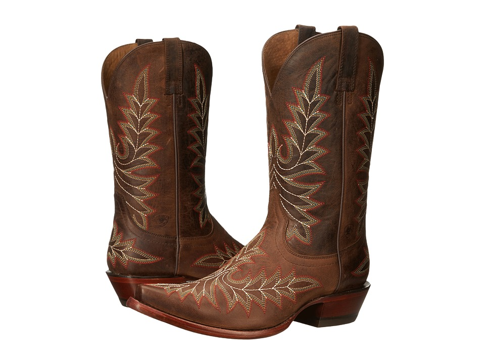 Ariat Brooklyn (Weathered Brown) Cowboy Boots