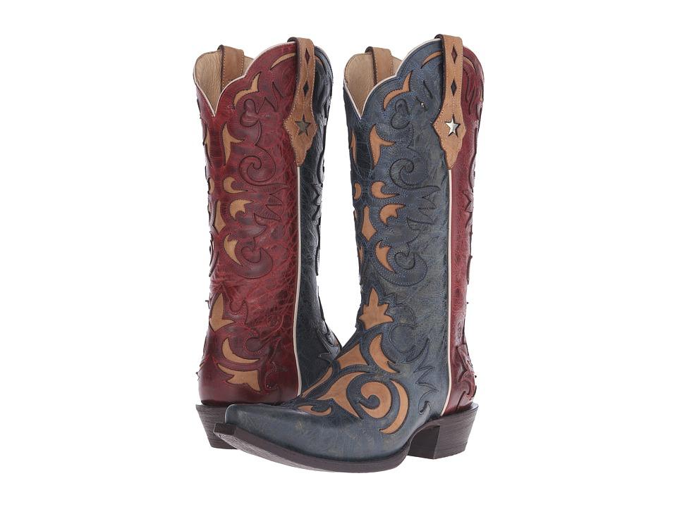 Ariat - Sevilla (Marino/Rojo) Cowboy Boots
