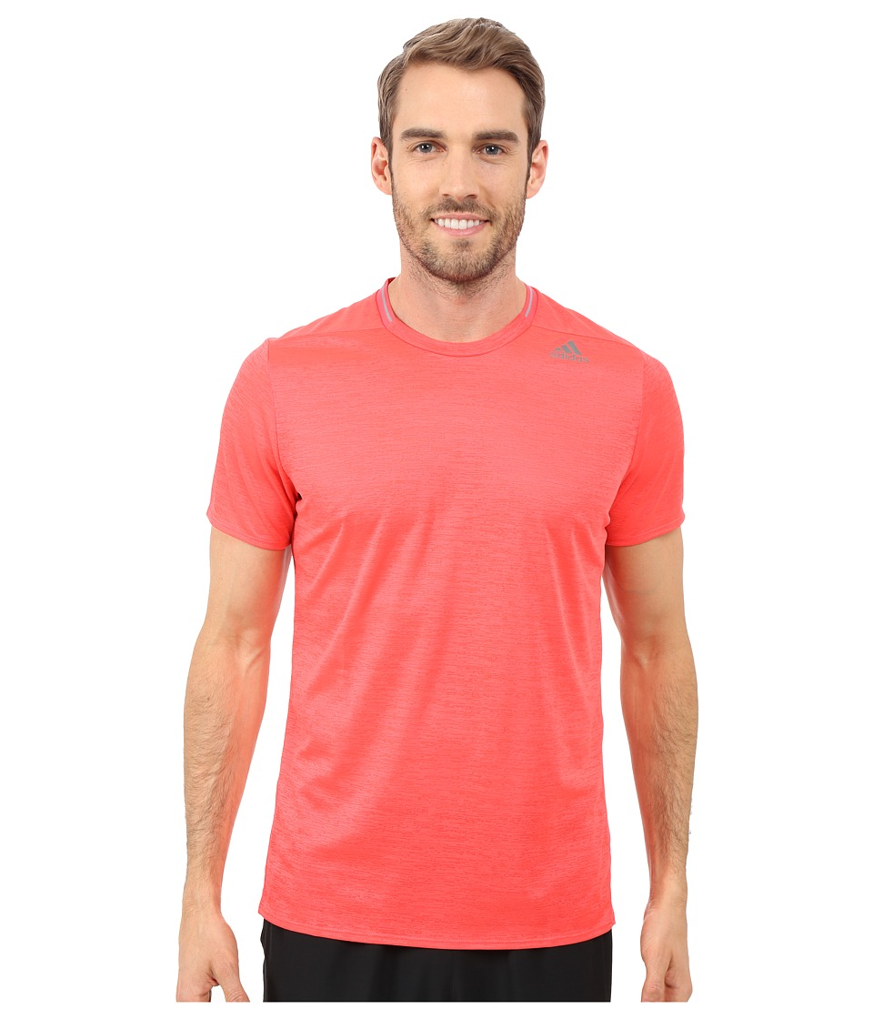 adidas - Supernova Short Sleeve Tee (Shock Red) Men's Short Sleeve Pullover