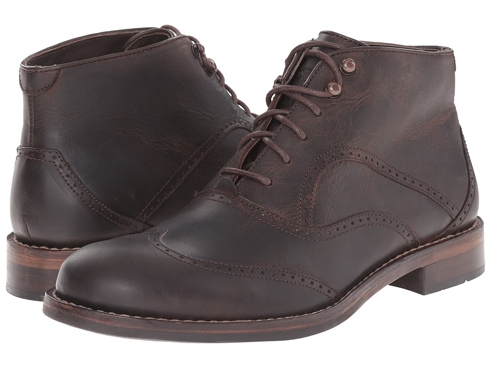 Wolverine - 1000 Mile Wesley Wingtip Chukka (Brown) Men's Lace-up Boots