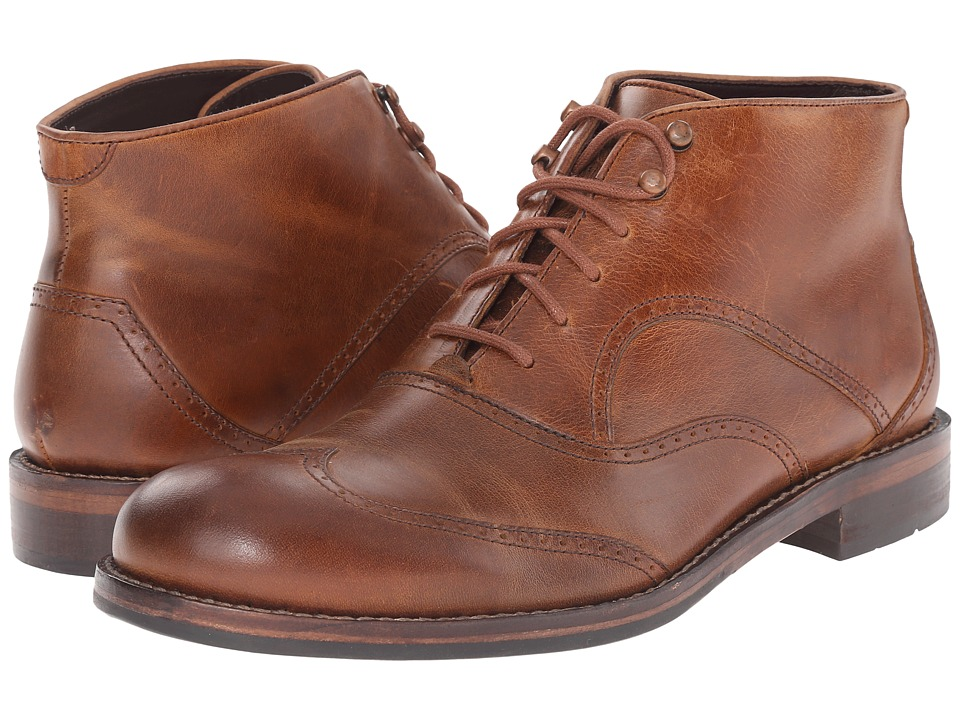 Wolverine - 1000 Mile Wesley Wingtip Chukka (Tan) Men's Lace-up Boots