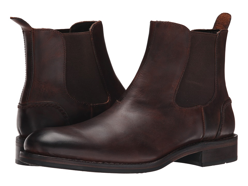 Wolverine - 1000 Mile Montague Chelsea Boot (Brown) Men's Pull-on Boots