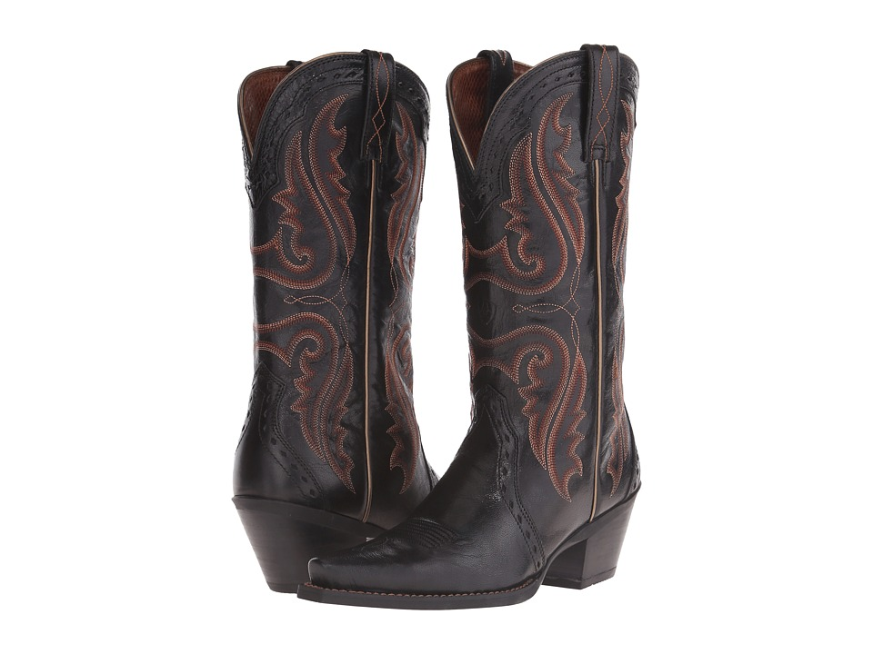 Ariat - Heritage Western X-Toe (Old Black) Cowboy Boots