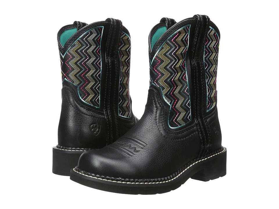 Ariat - Fatbaby Heritage (Ziggy Black) Cowboy Boots