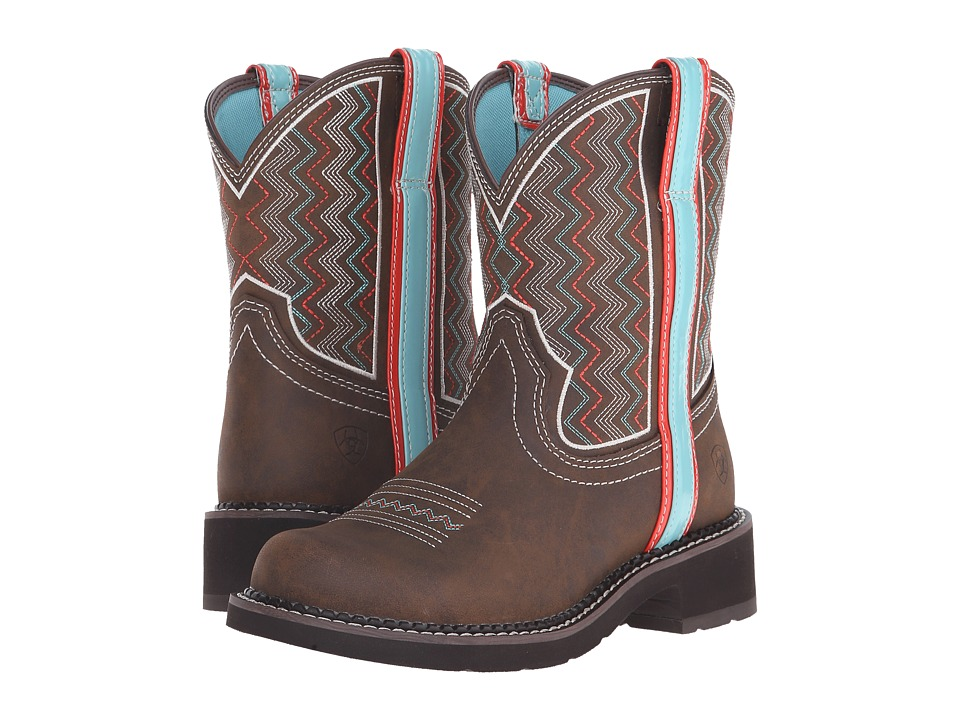 Ariat Fatbaby Heritage (Ziggy Toasted Brown) Cowboy Boots