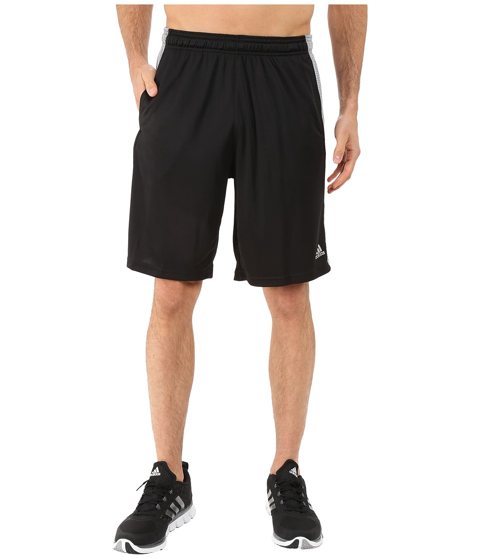adidas - Aeroknit Shorts (Black/Grey) Men's Shorts