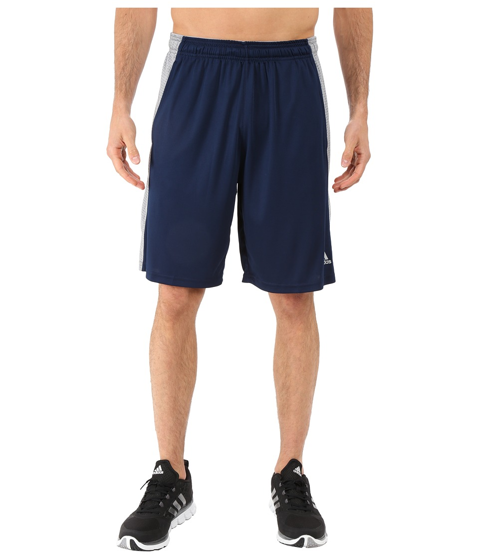 adidas - Aeroknit Shorts (Collegiate Navy/Grey) Men's Shorts