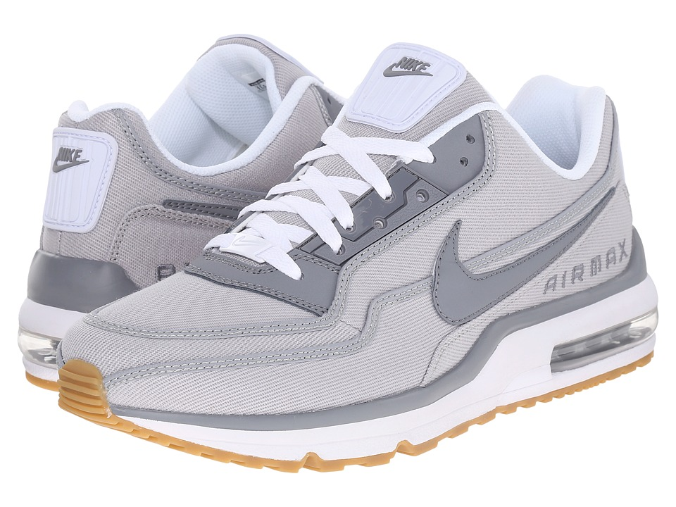 Nike - Air Max LTD 3 TXT (Wolf Grey/White/Gum Light Brown/Cool Grey) Men's Shoes