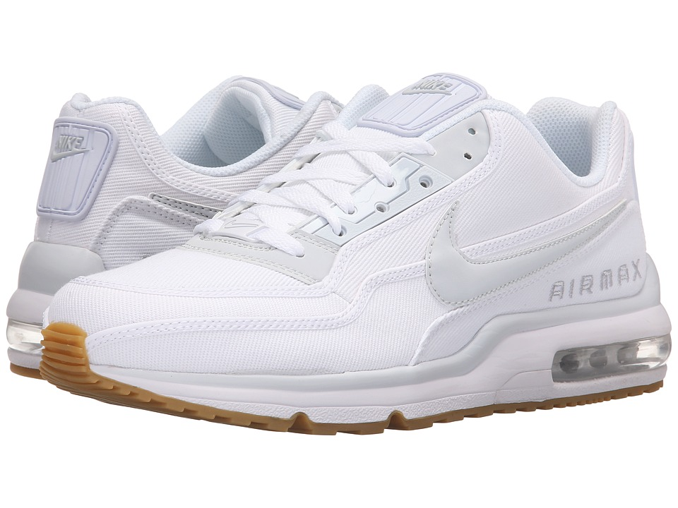 Nike - Air Max LTD 3 TXT (White/White/Gum Light Brown/Summit White) Men's Shoes