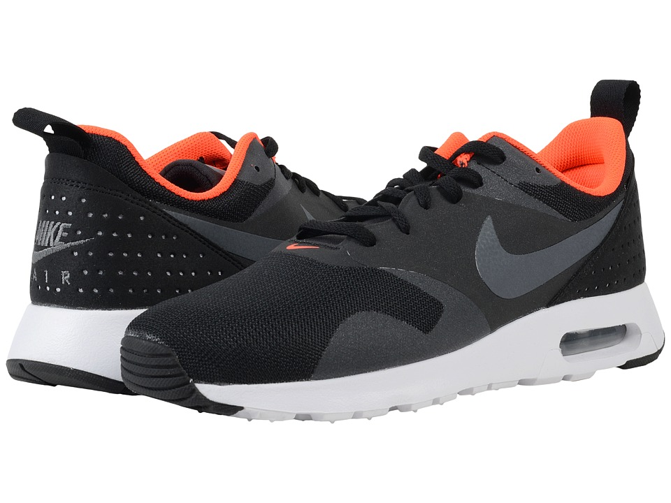Nike - Air Max Tavas (Black/Total Crimson/White/Grey Grey) Men's Shoes