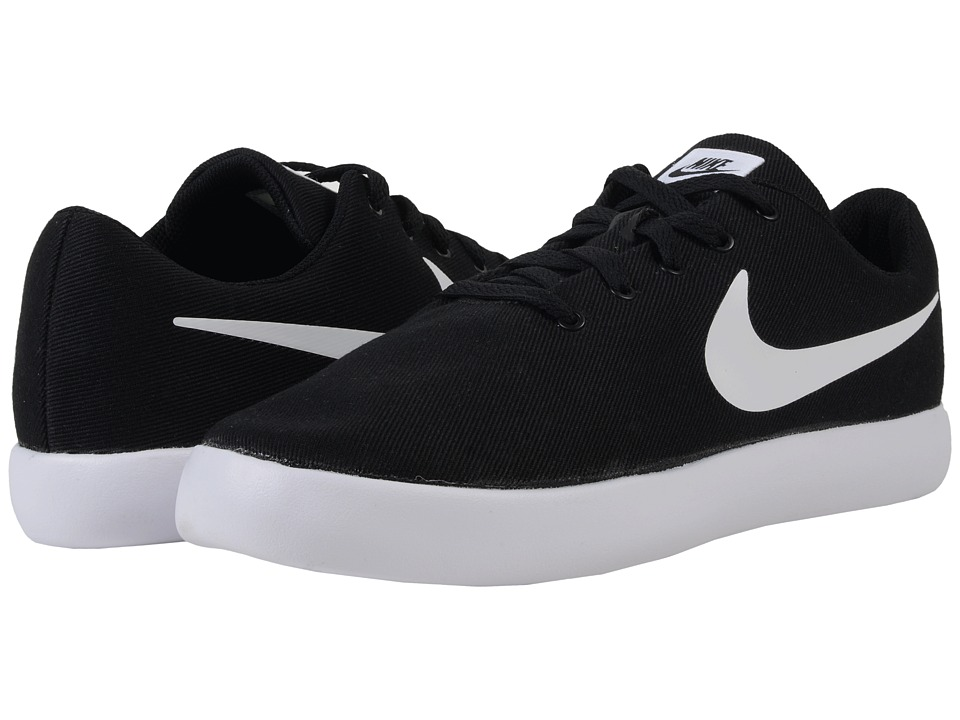 Nike - Essentialist Canvas (Black/White) Men's Shoes