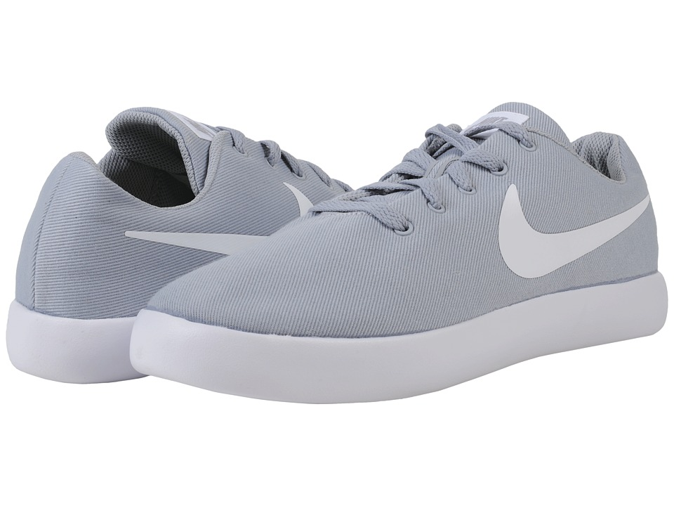 Nike - Essentialist Canvas (Wolf Grey/White) Men's Shoes