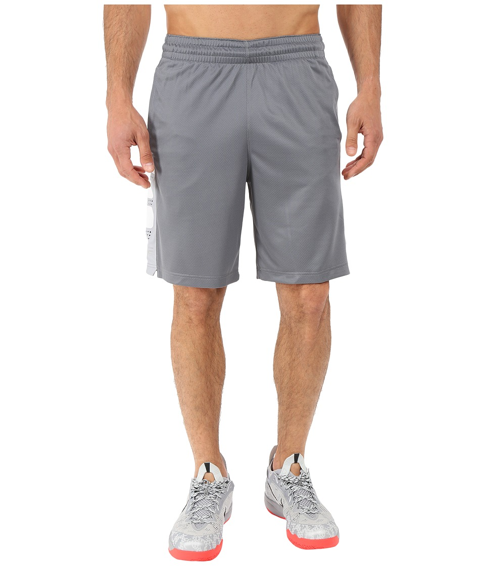 Nike - Elite Stripe Short (Cool Grey/White/Black/White) Men's Shorts