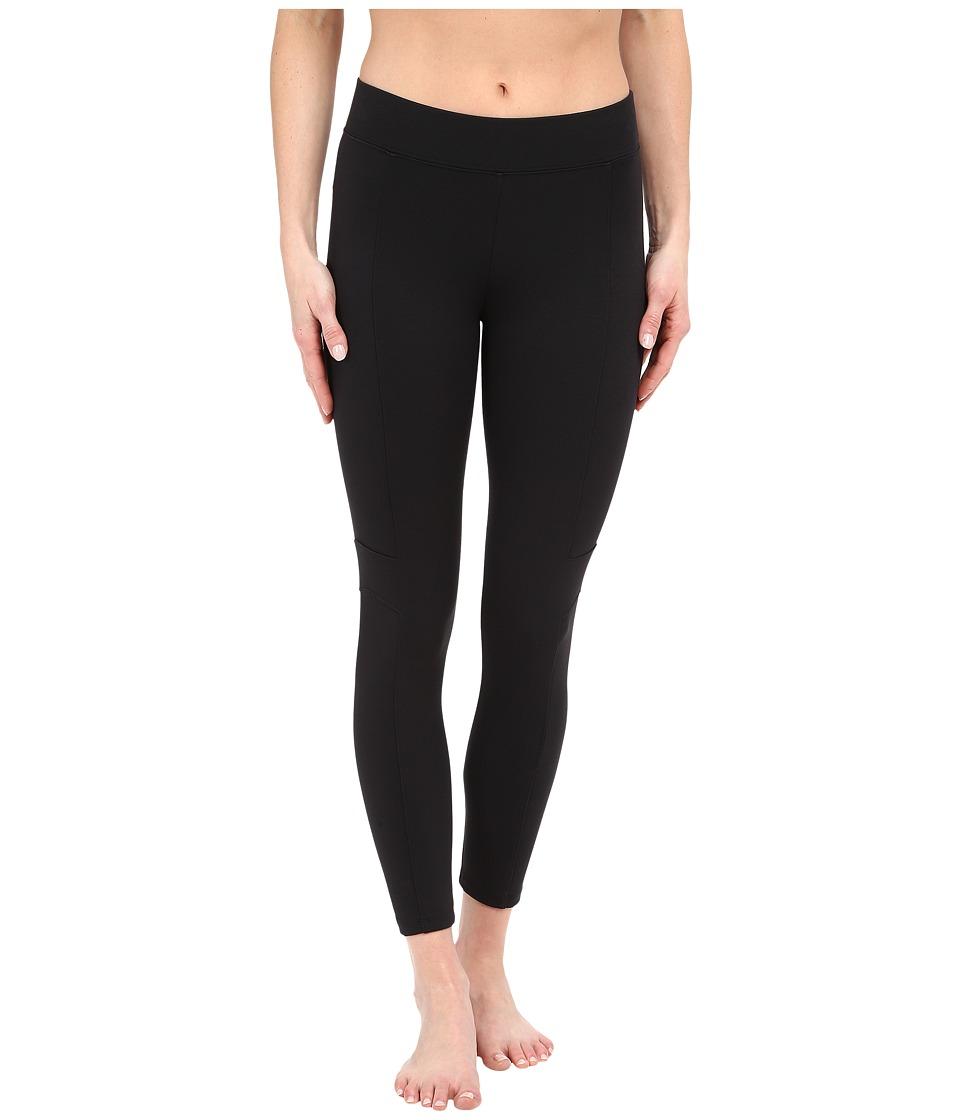 Yummie by Heather Thomson Canyon Skimmer Stretch Twill Leggings (Black) Women