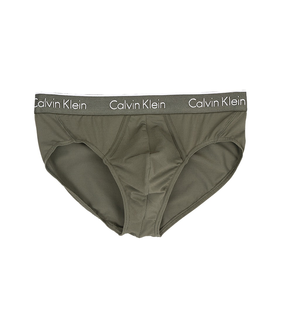 Calvin Klein Underwear - Air Micro Hip Brief (Hunter) Men's Underwear