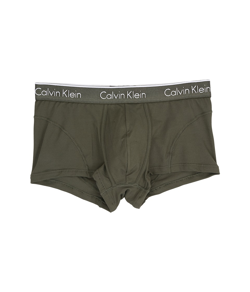Calvin Klein Underwear - Air Micro Low Rise Trunk (Hunter) Men's Underwear