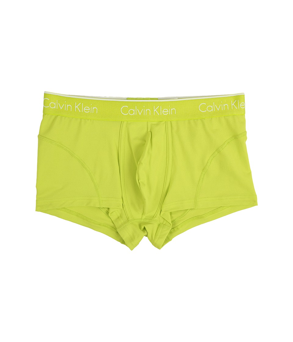 Calvin Klein Underwear - Air Micro Low Rise Trunk (Striking Lime) Men's Underwear