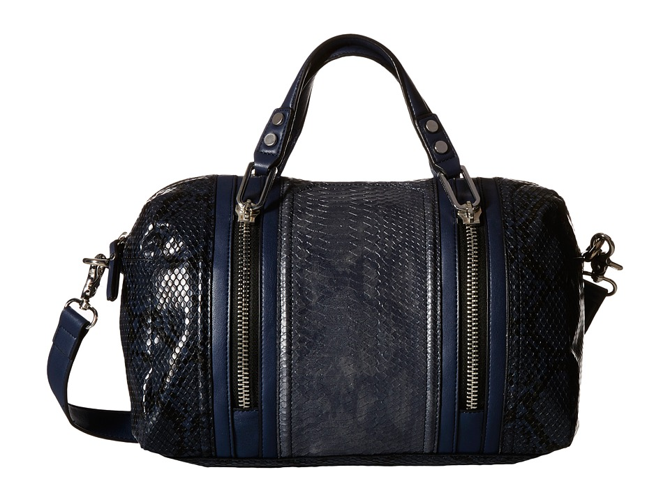 French Connection - Nora Satchel (Phantom Snake PU) Satchel Handbags