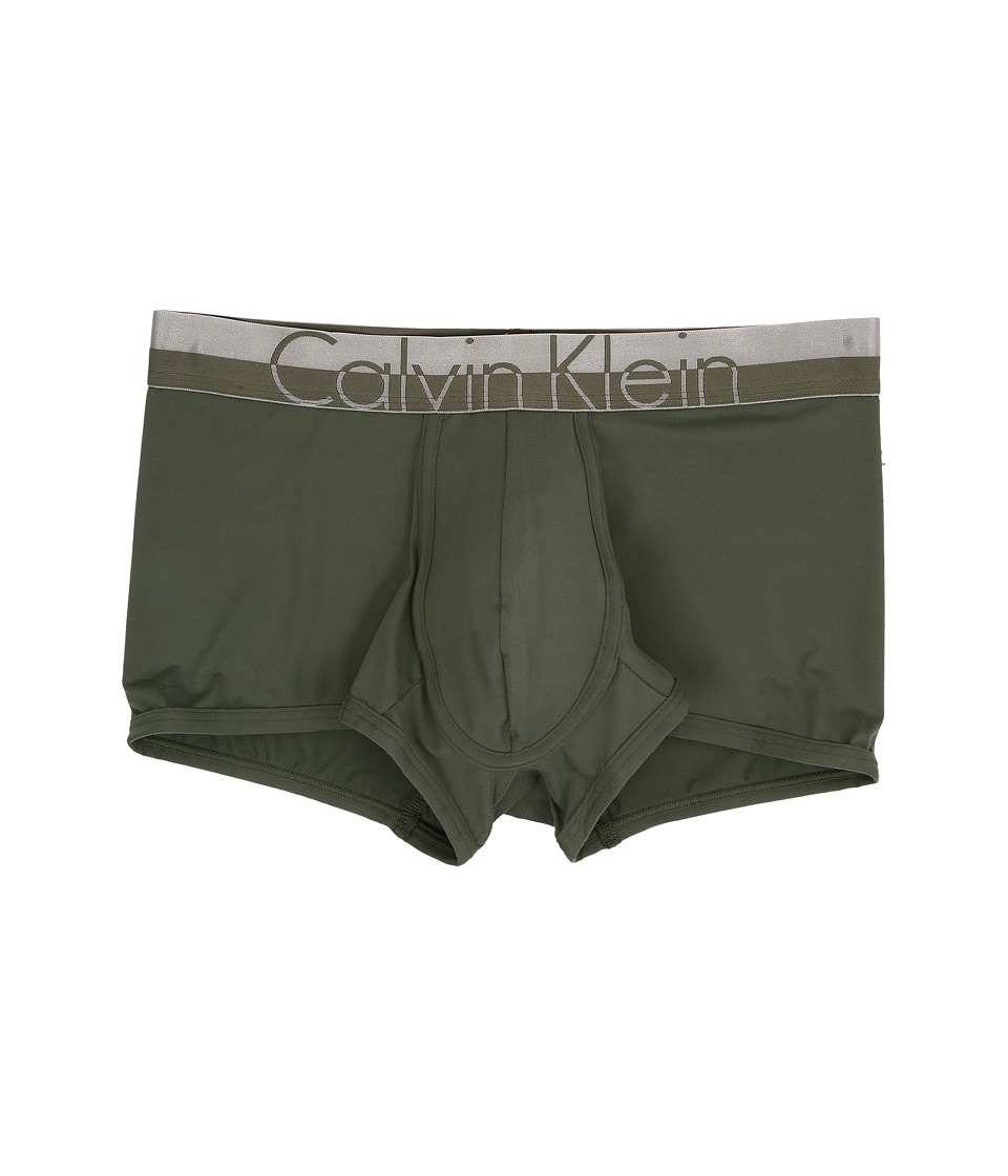 Calvin Klein Underwear - Magnetic Micro Low Rise Trunk (Hunter) Men's Underwear